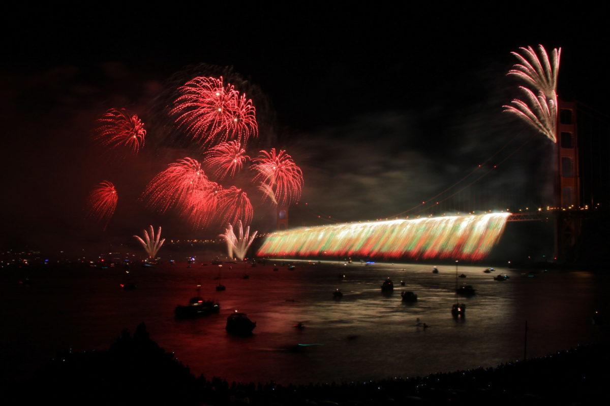 75 anniversary golden gate bridge